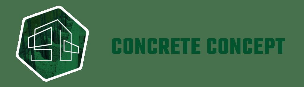 concrete concept logo